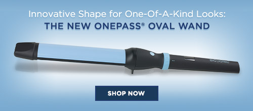 ONEPASS® OVAL WAND on blue background