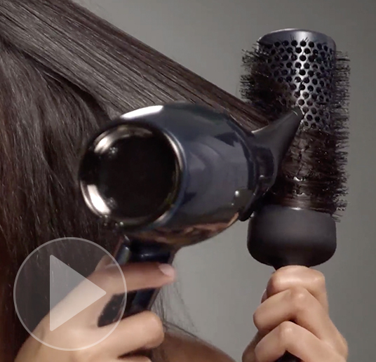 Super sleek blowout tutorial video preview